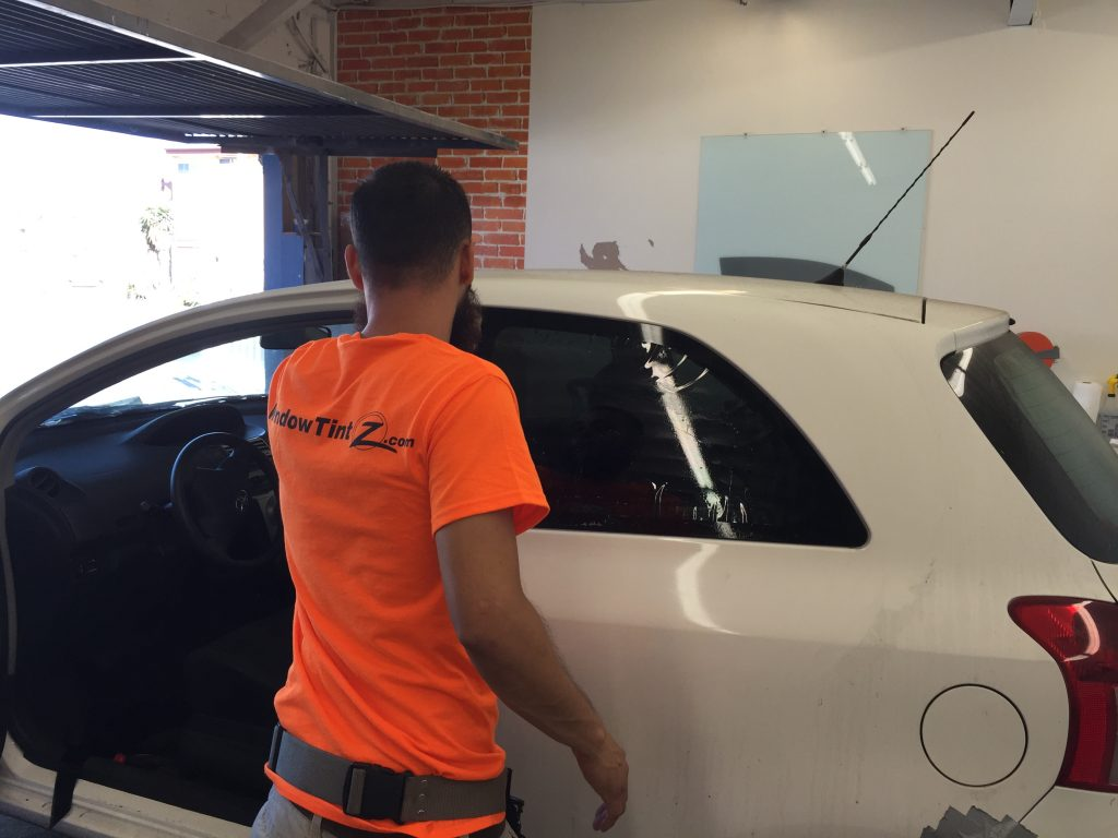 window tinting for toyota yaris window tint z. Black Bedroom Furniture Sets. Home Design Ideas