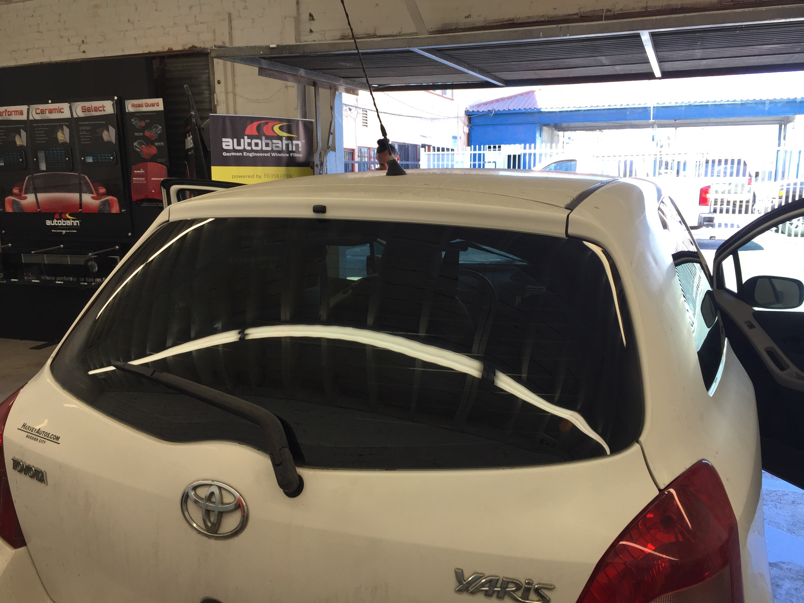 Toyota Yaris Window Tint Los Angeles