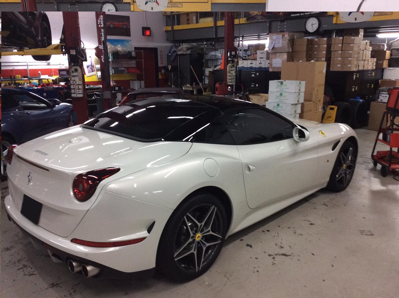 Ferrari window tint los angeles for 10 window tint