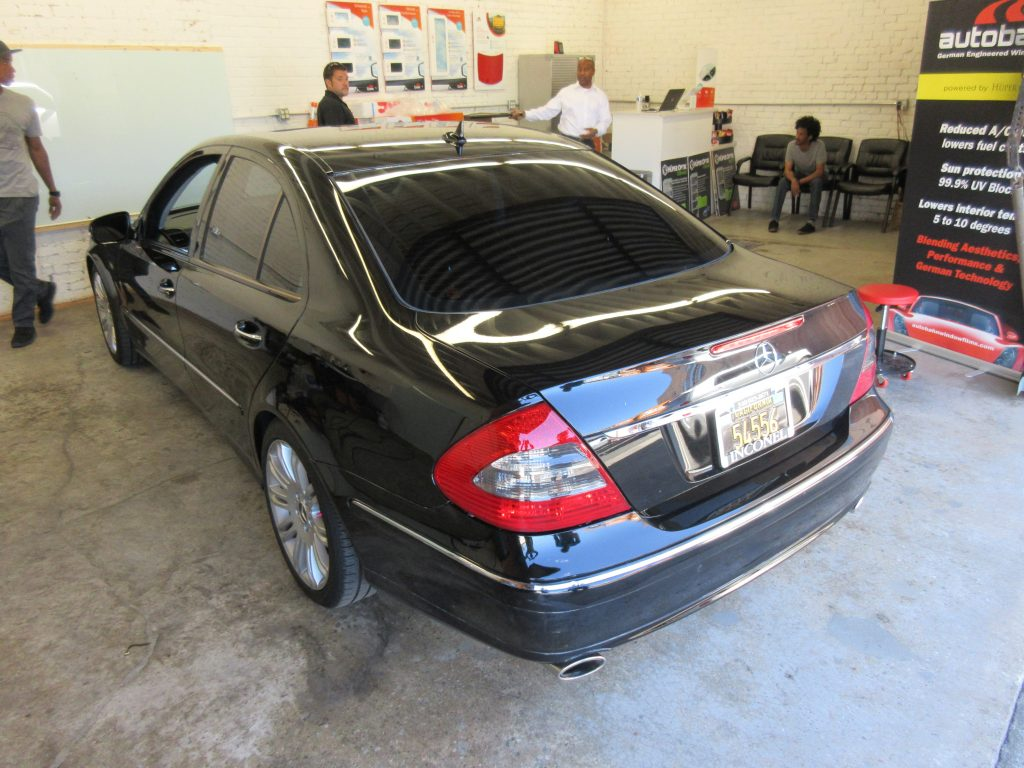 Window Tint For Mercedes Benz E350 Window Tint Z