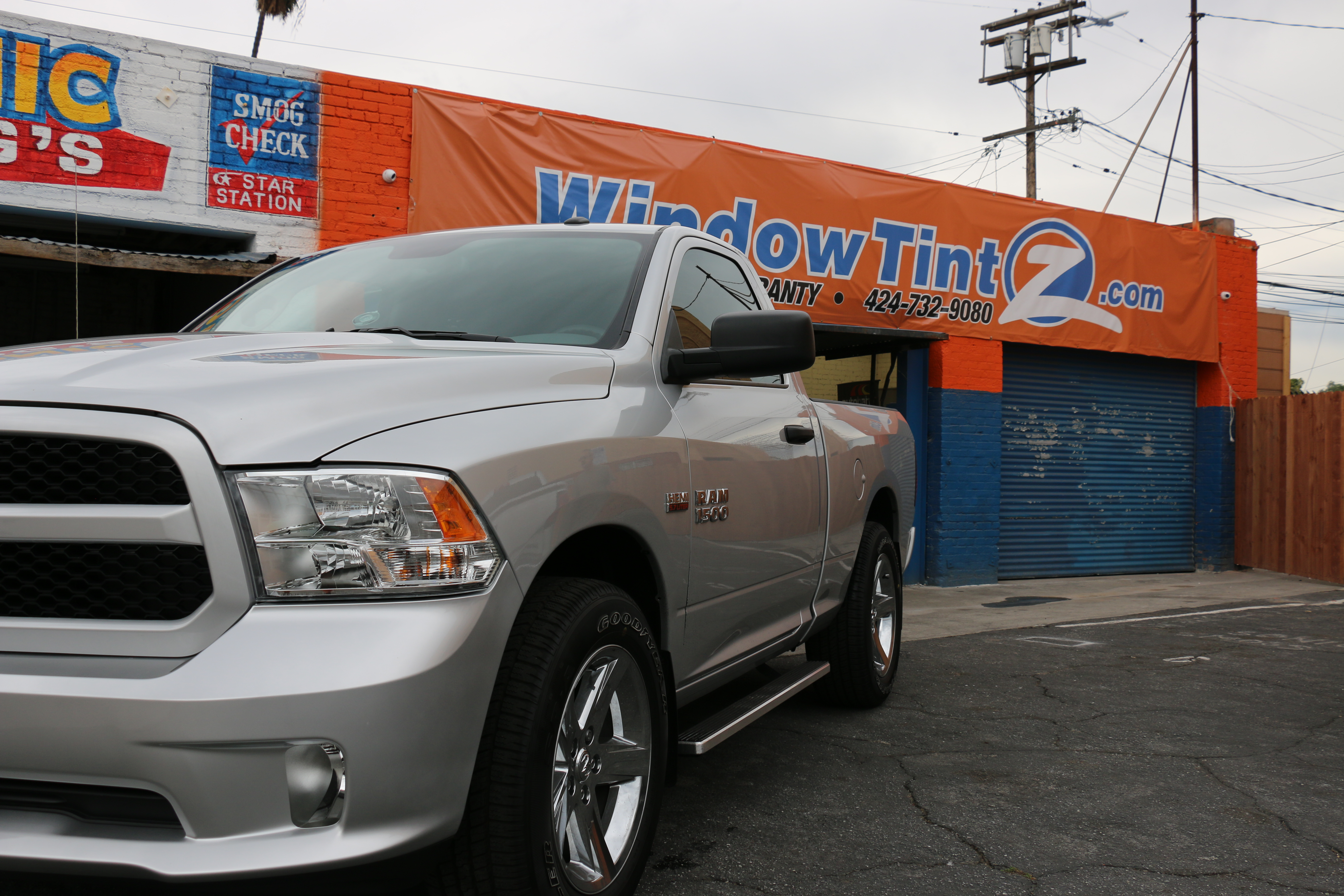 Ram Window Tint Los Angeles Window Tint Z