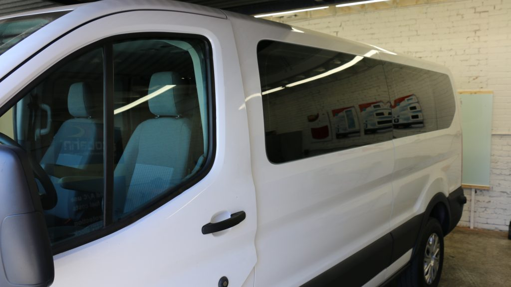 Ford transit window tinting with llumar window tint z for 10 window tint