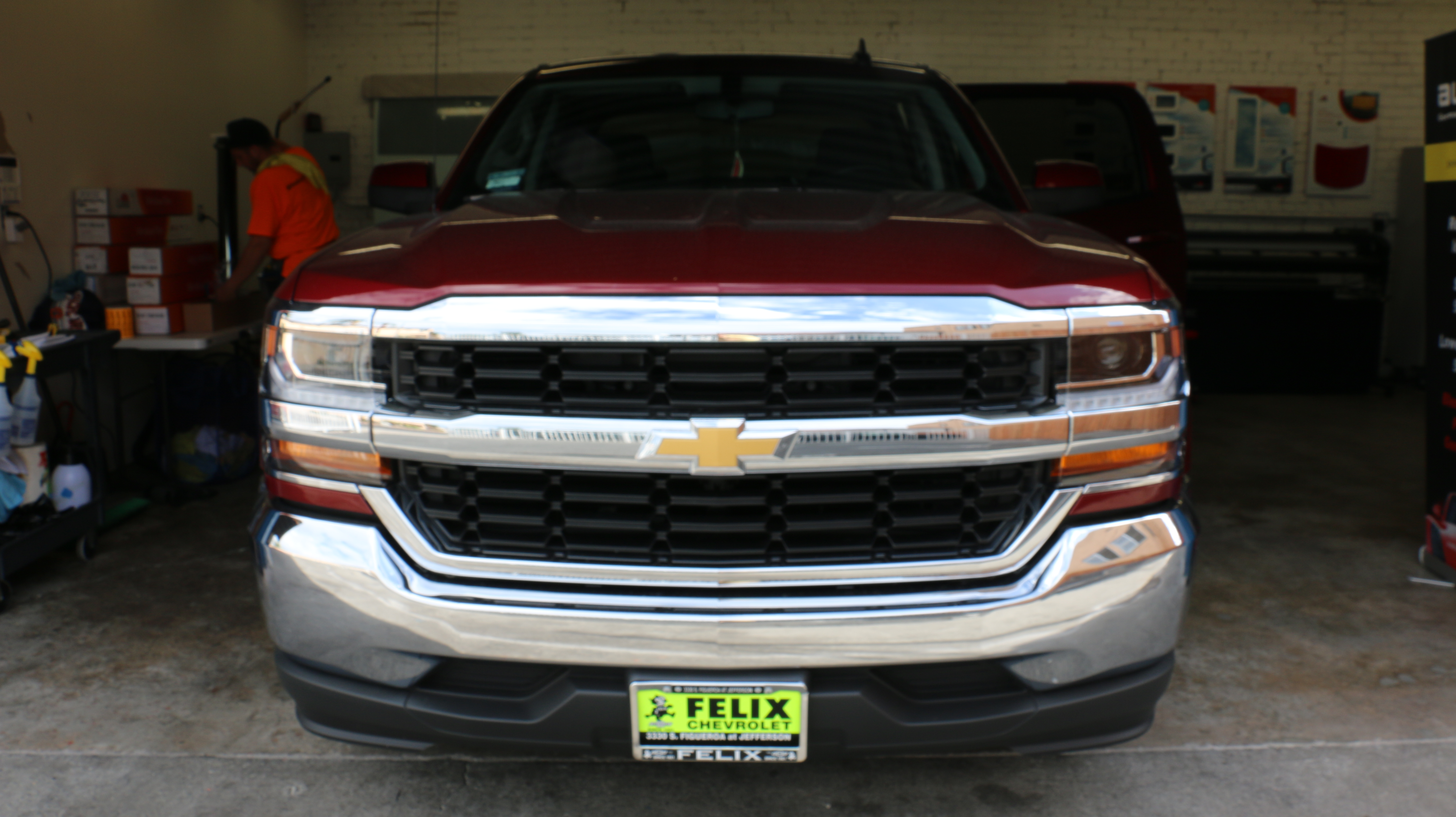 Chevrolet Silverado Window Tint LA