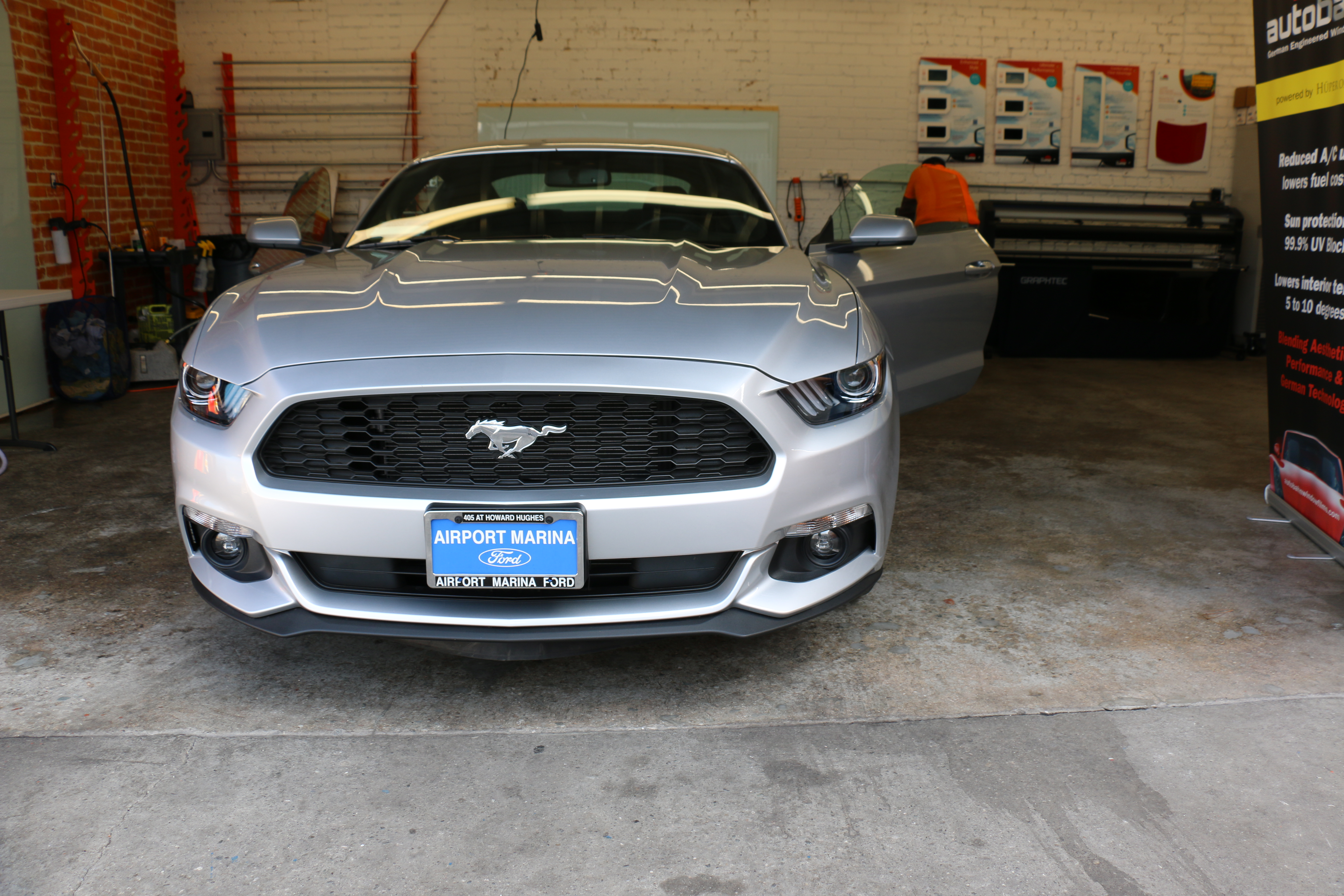 Ford Mustang Window Tint Los Angeles Window Tint Z