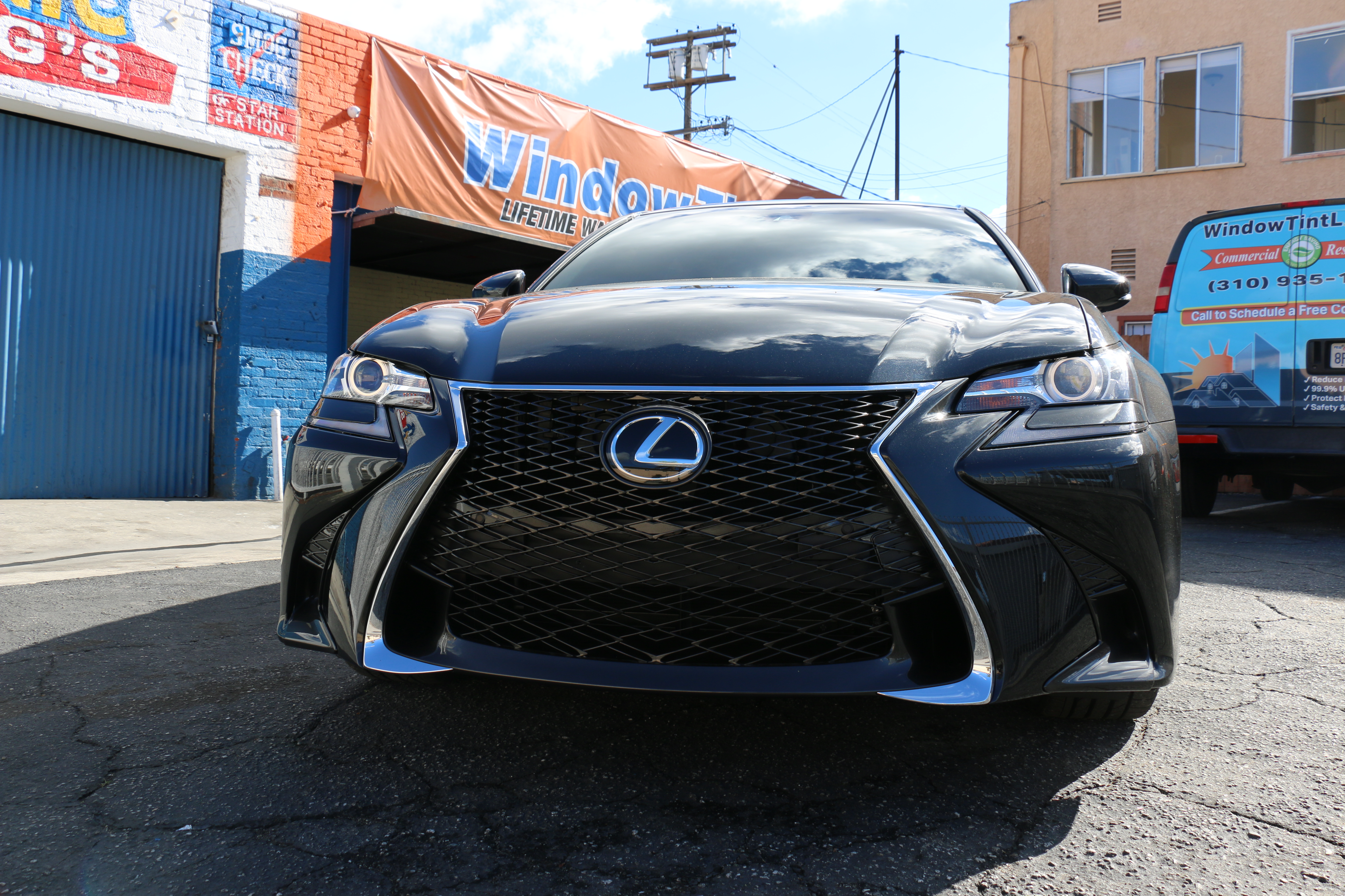 Lexus GS350 Window Tint Los Angeles