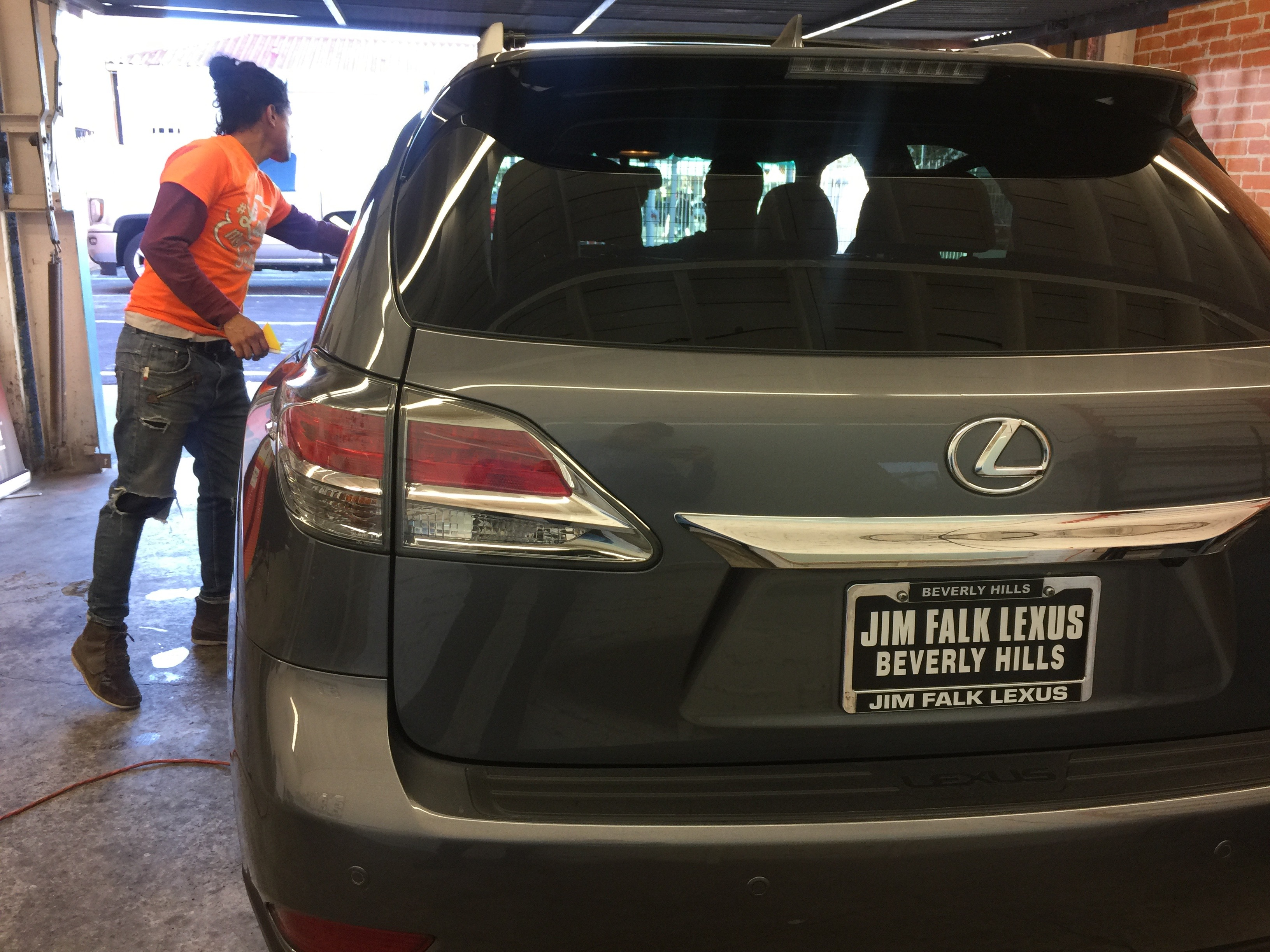 Lexus-RX-Llumar-Los-Angeles Take A Look About 3m Crystalline Vs Ceramic