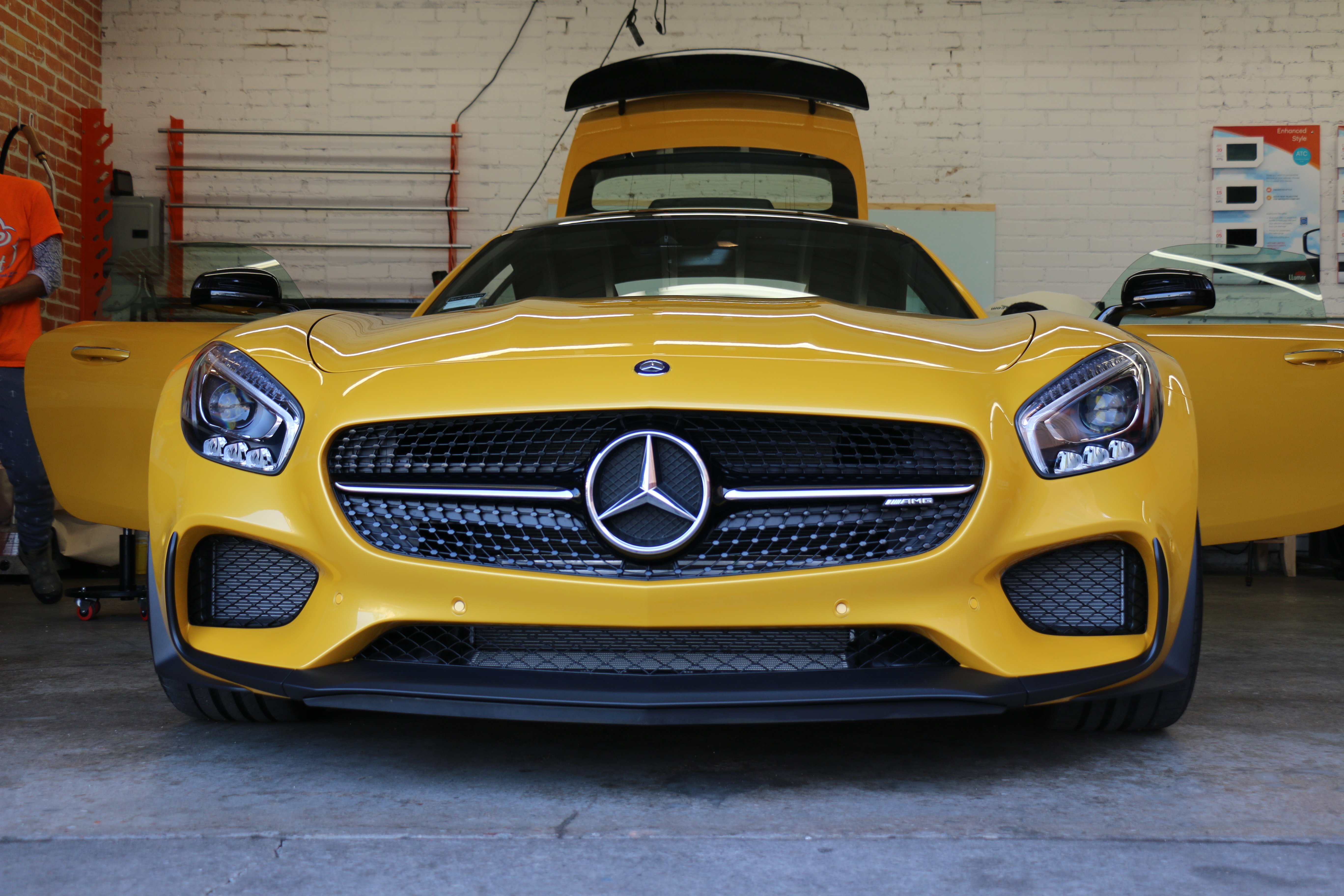 Mercedes AMG GT Window TIntz Los Angeles