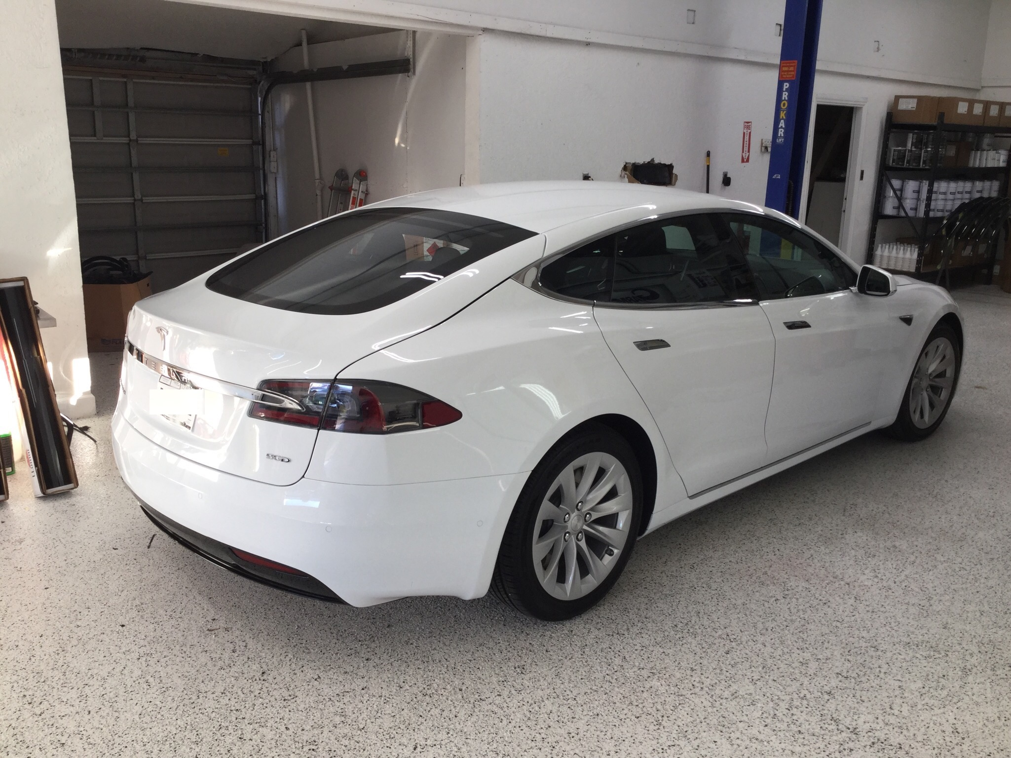 Huper Optik Xtreme Tint for Tesla in Los Angeles