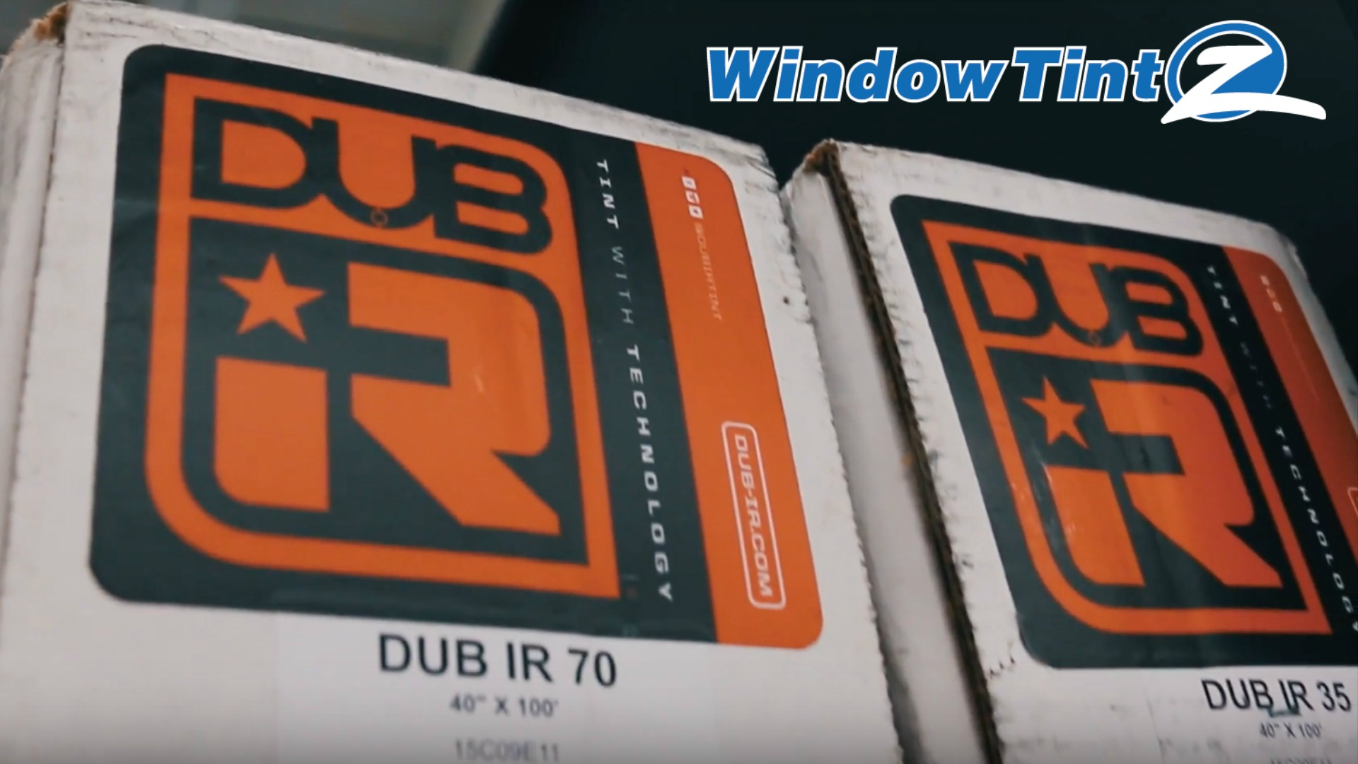 DUB-IR Window Tint - 35% and 70% VLT Tint Shade