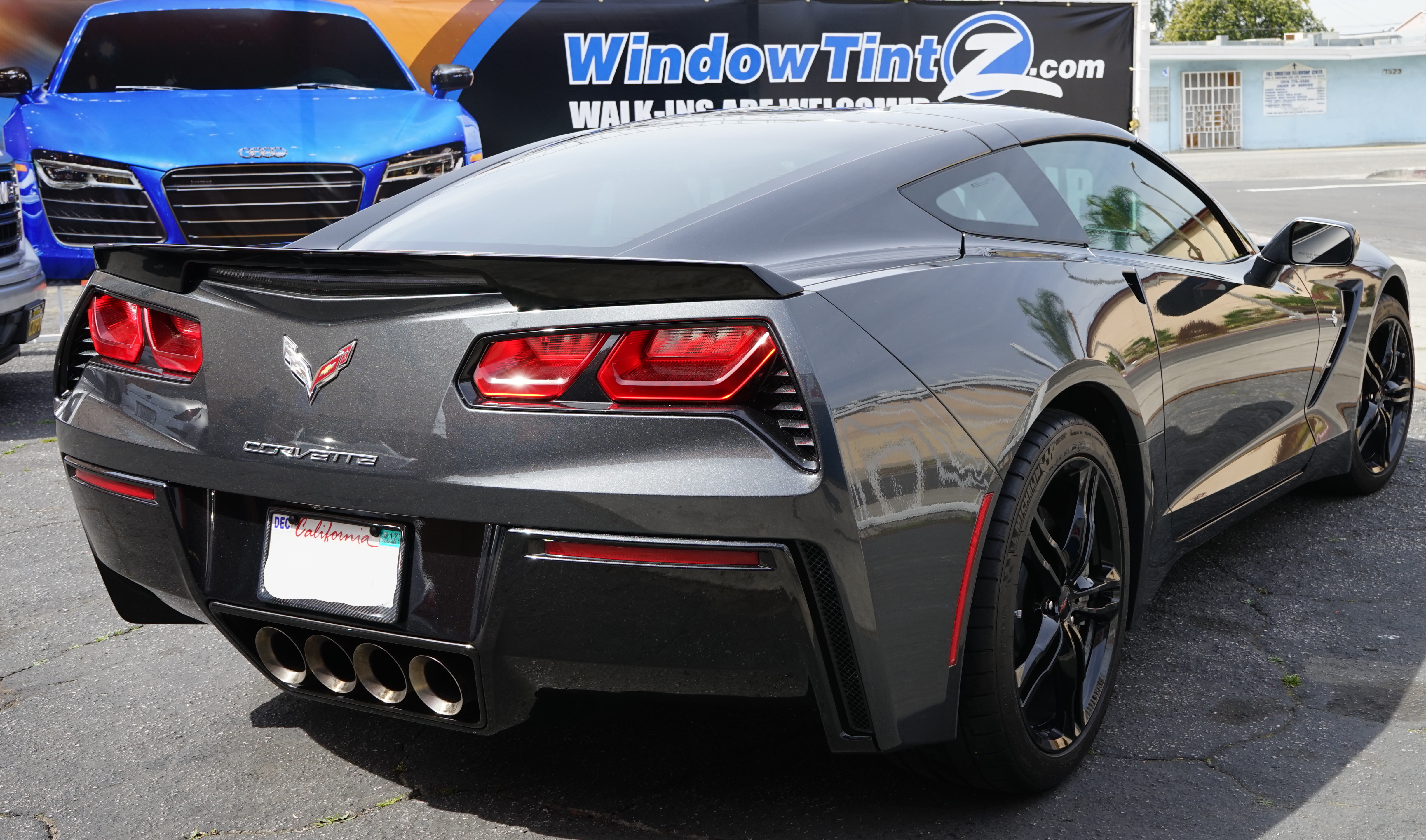 Corvette Window Tinting Pictures