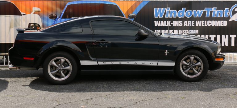 Mustang Window Tinting Price And Percentages Window Tint Z
