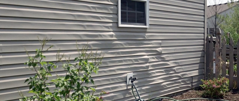 Vinyl Siding Melting Solution