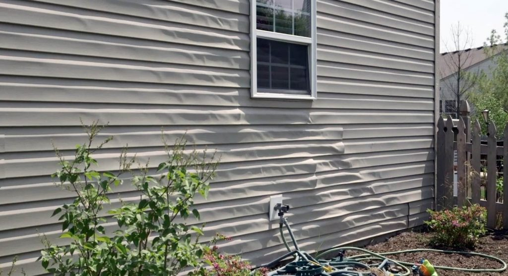 Are You Faced With Vinyl Siding Melting From Window