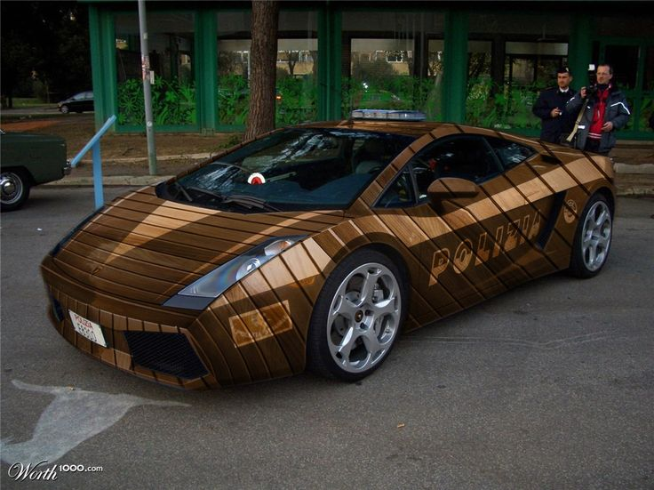 Wooden Car Paint Designs