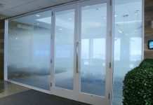Gradient Privacy Film for Conference Room