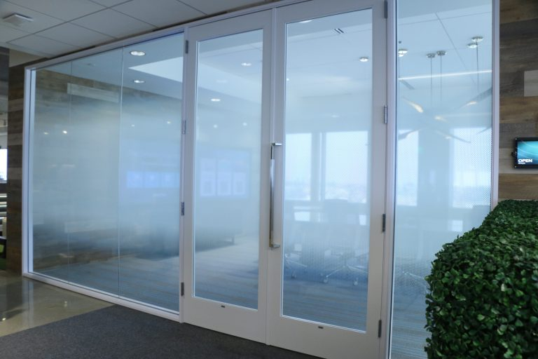 Gradient Privacy Frosted Film For Conference Room Window