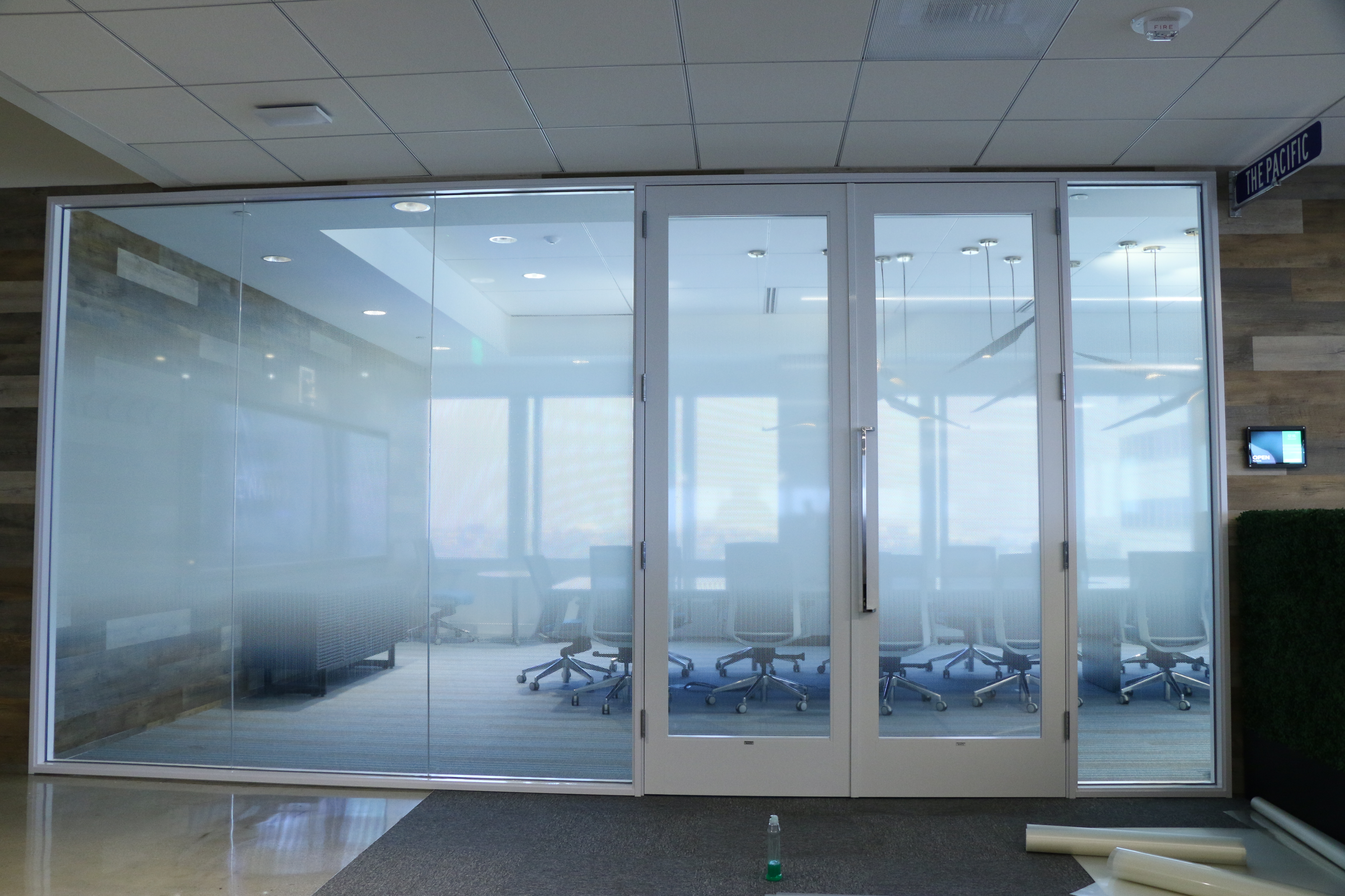 Gradient Frosted Window Film