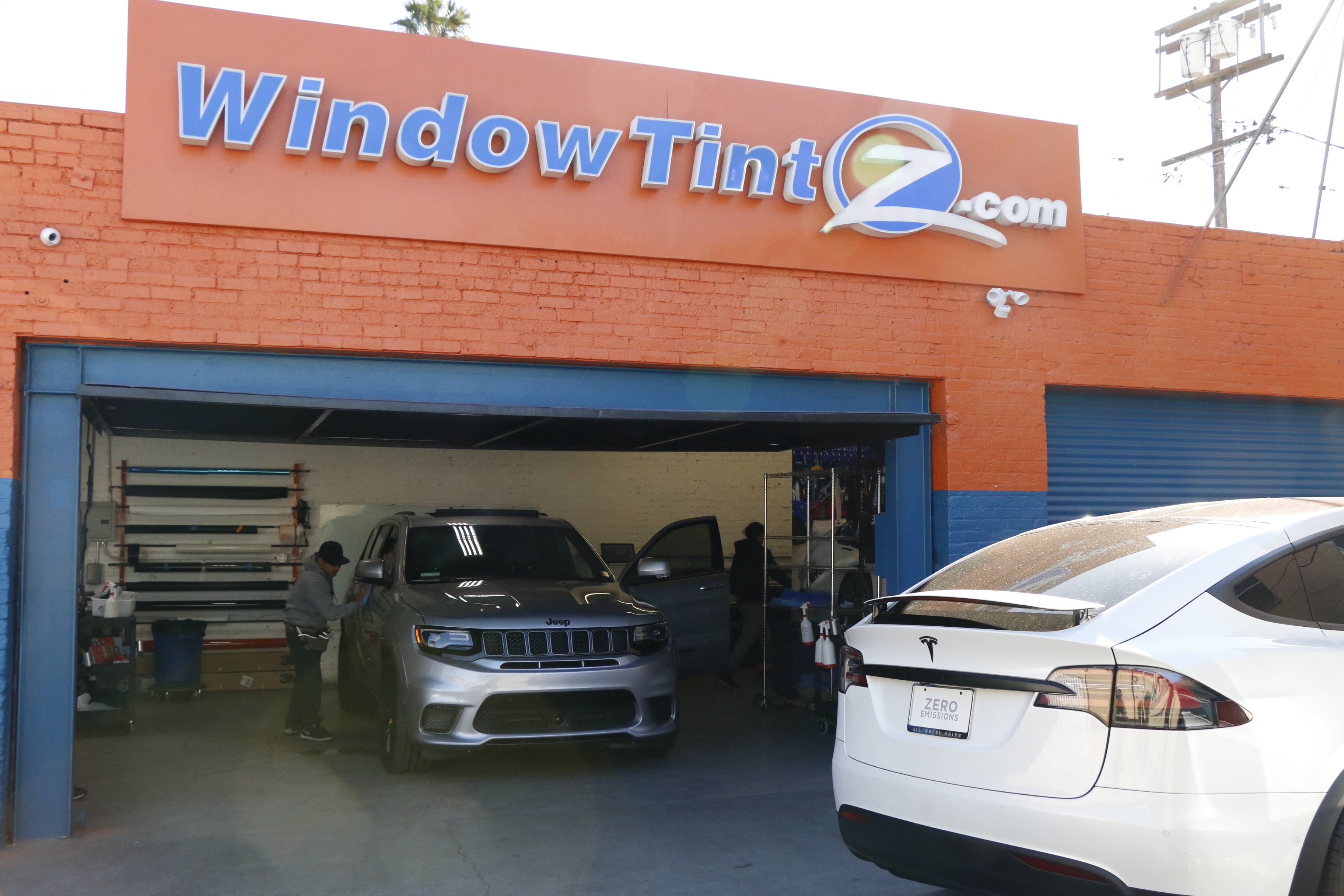 Jeep Grand Cherokee Trackhawk Stratos Window Tint 001