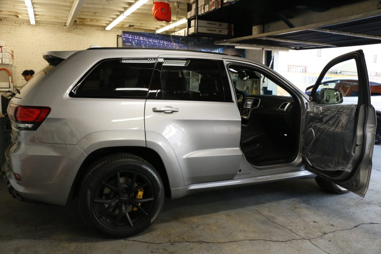 Jeep Grand Cherokee Trailhawk Stratos Tint In Los Angeles