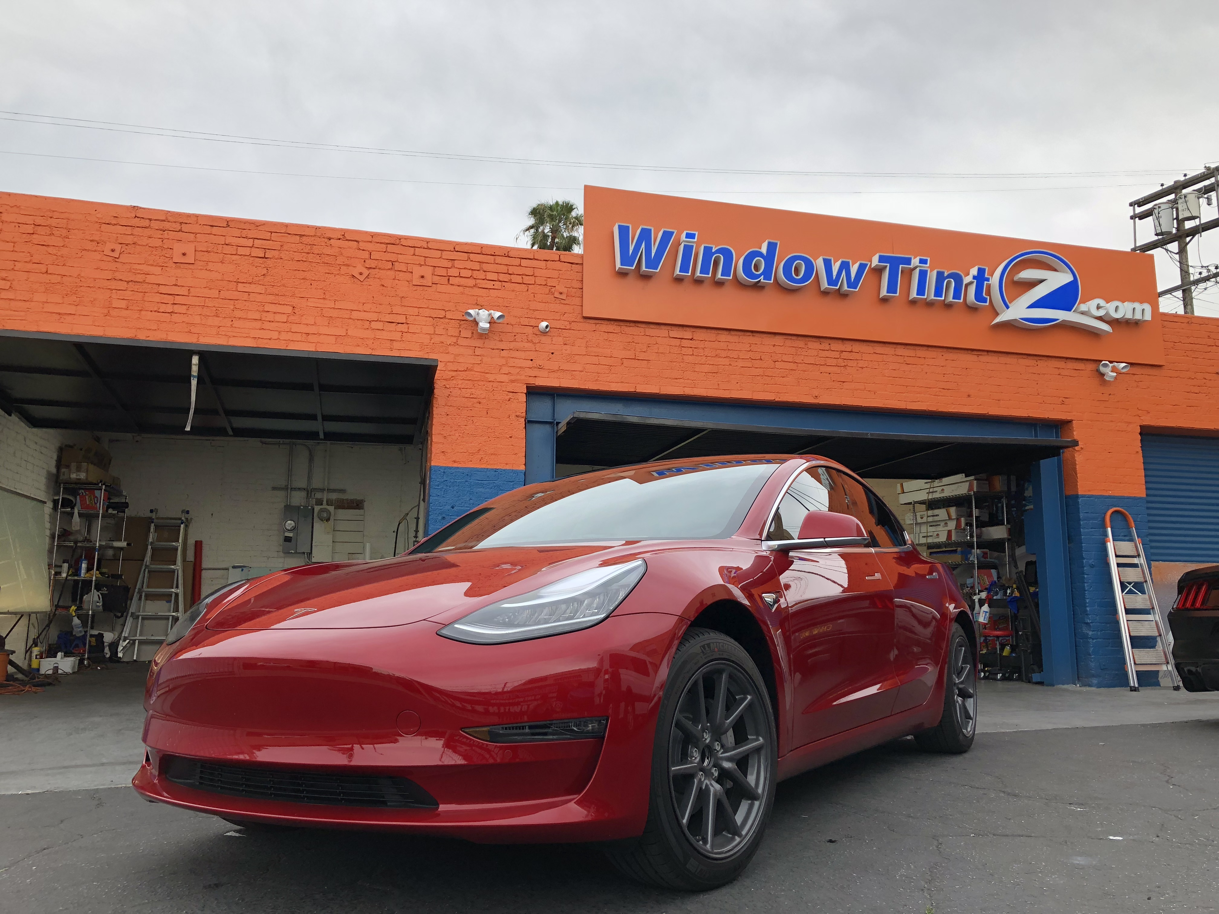 Tesla Model 3 Window Tint Huper Optik Ceramic