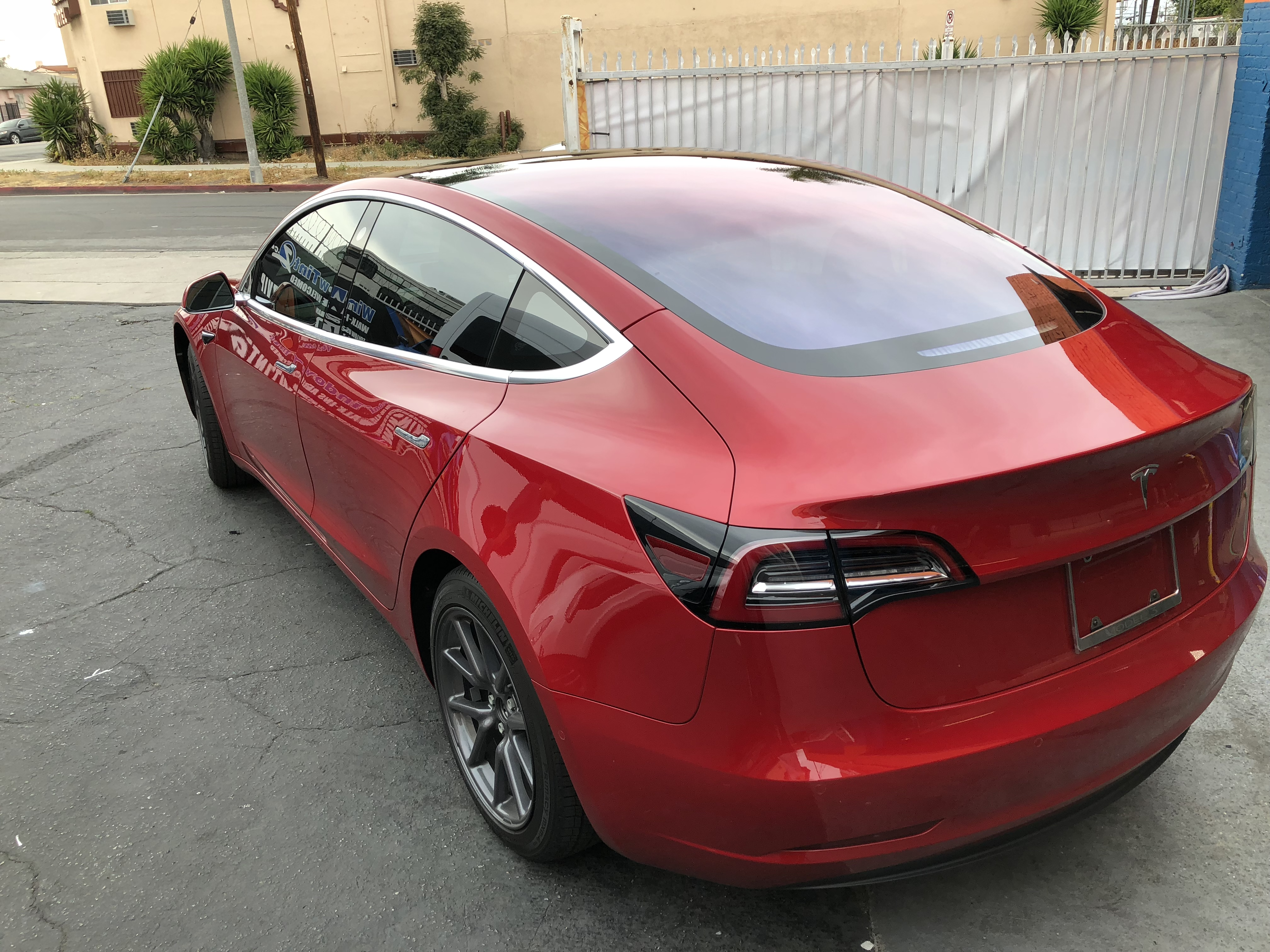 Huper Optik Ceramic Tint 30% shade - 2018 Tesla Model 3