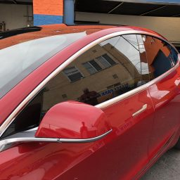 Tesla Model 3 Window Tint Huper Optik Ceramic 30 Window