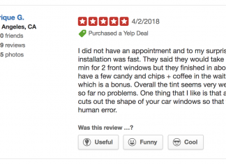 Car Window Tinting Review
