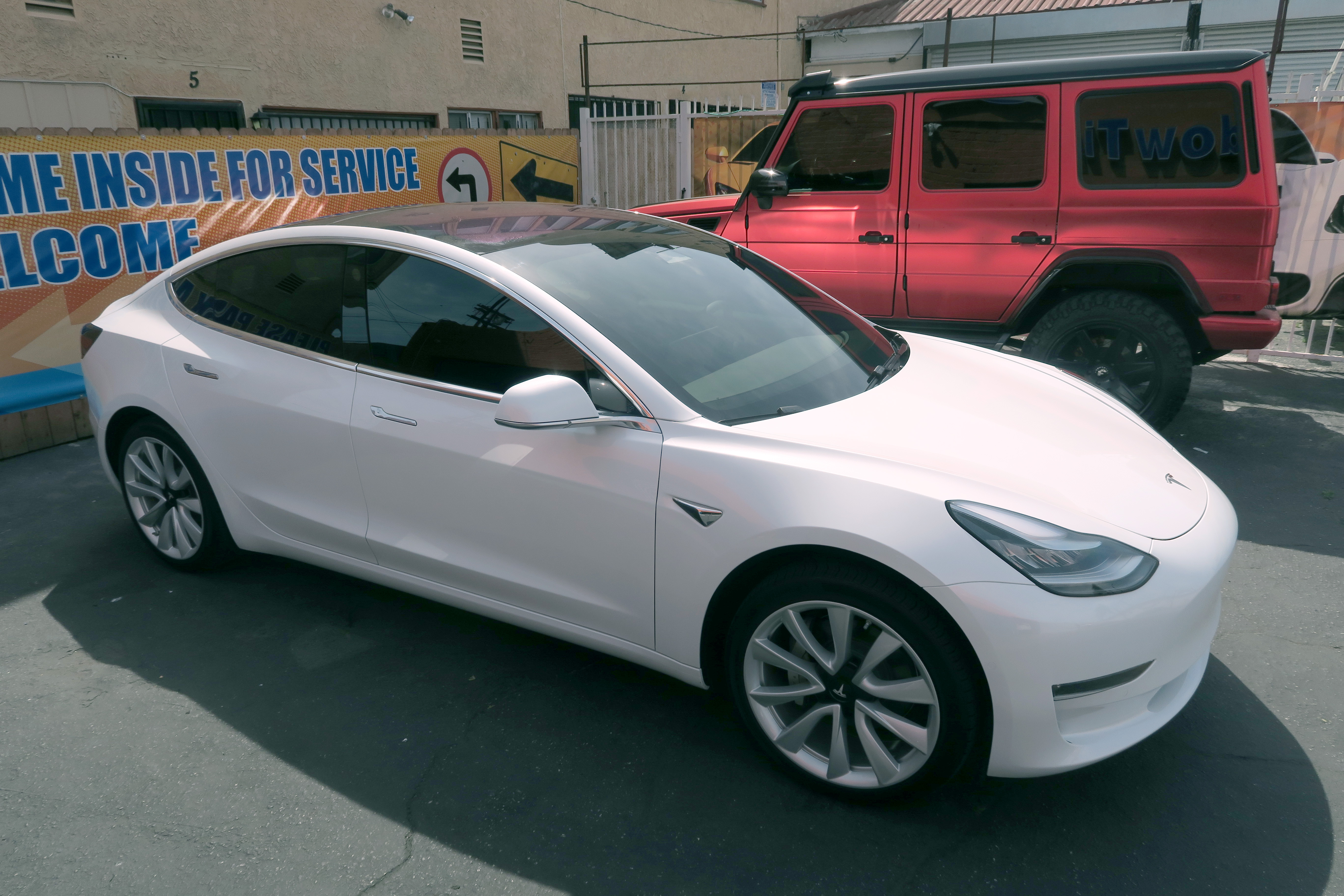 Tesla Clear Bra Paint Protection Window Tint Z