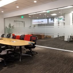 Conference Room Glass Frosting