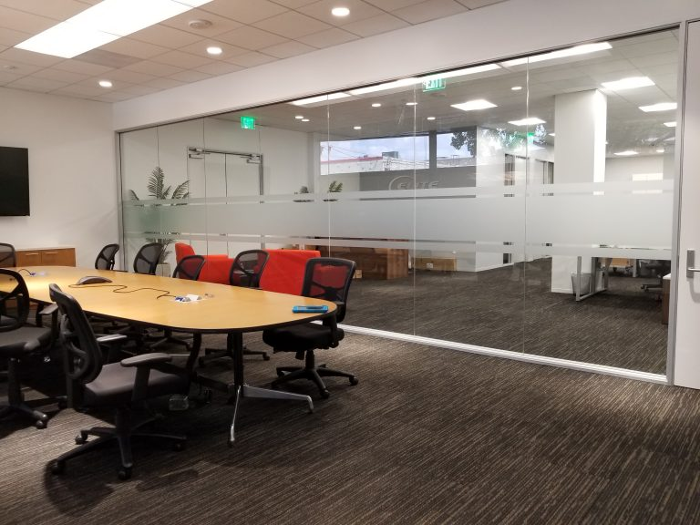 Conference Room Glass Frosting Window Tint Z