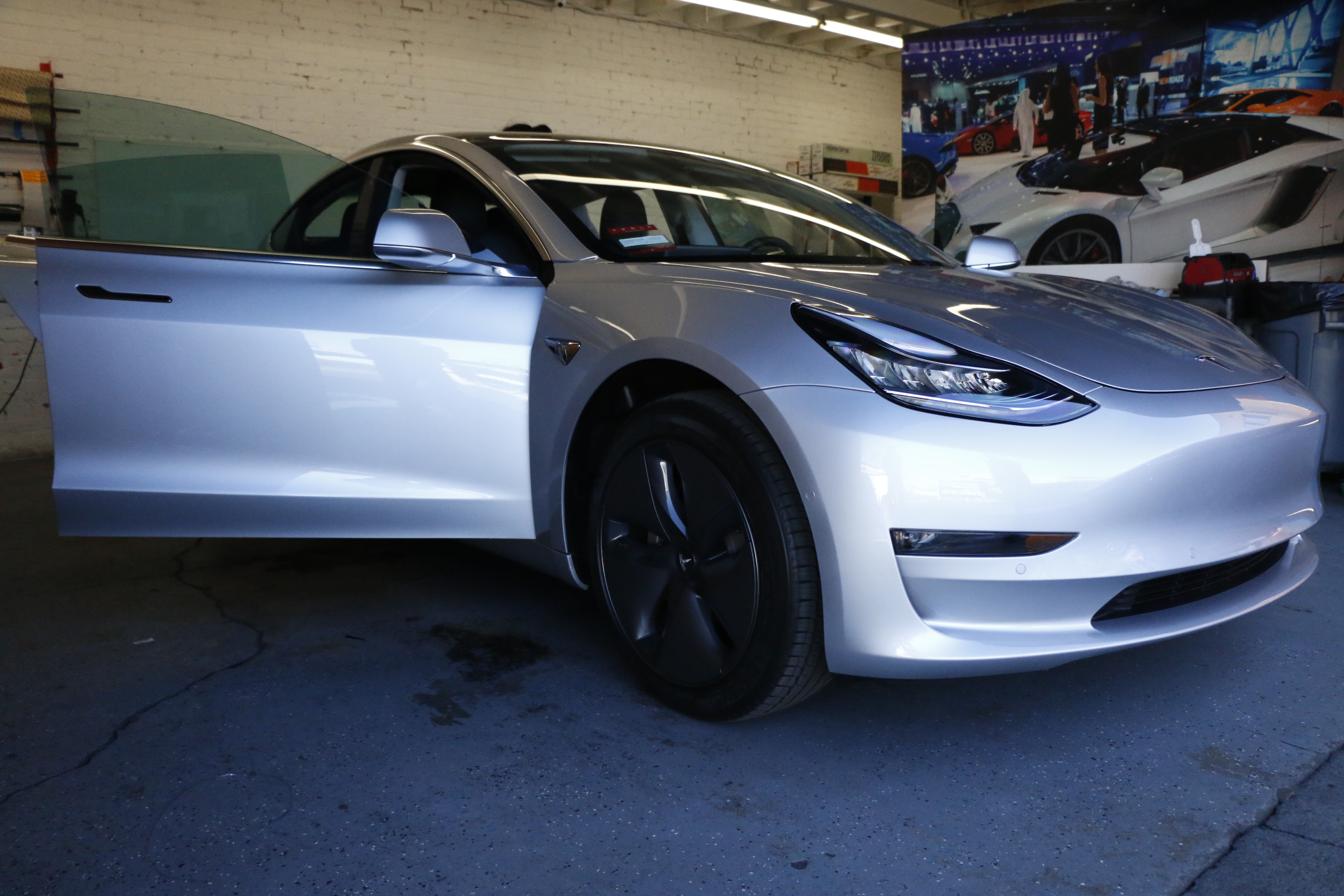 Tesla Model 3 - Window Tint and Clear Bra Protection