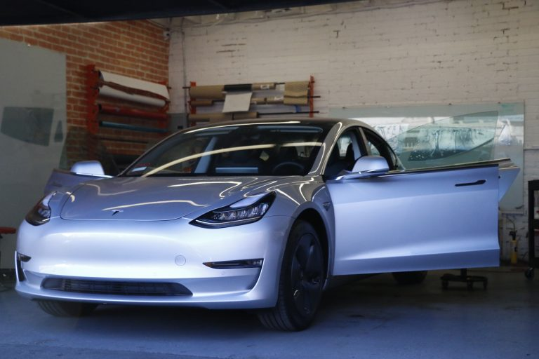 Tesla Model 3 3m Crystalline Tint And Llumar Clear Bra