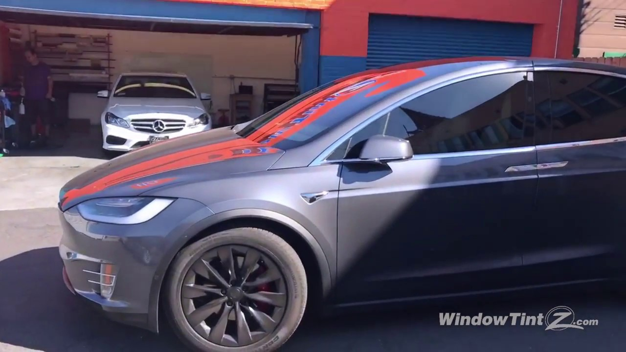 Formula One Stratos Tint For Tesla Model X Window Tint Z