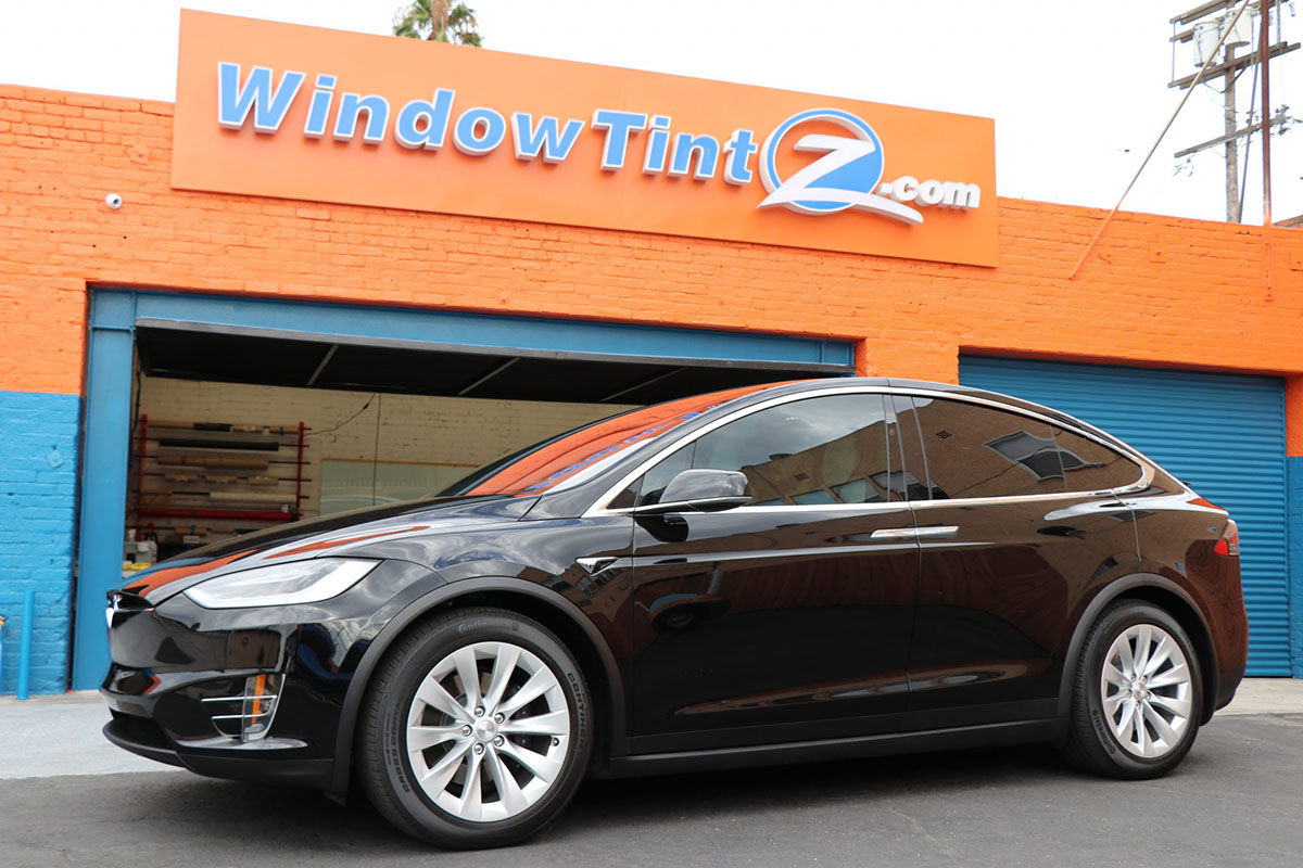 Tesla Model X Stratos Window Tint Window Tint Z