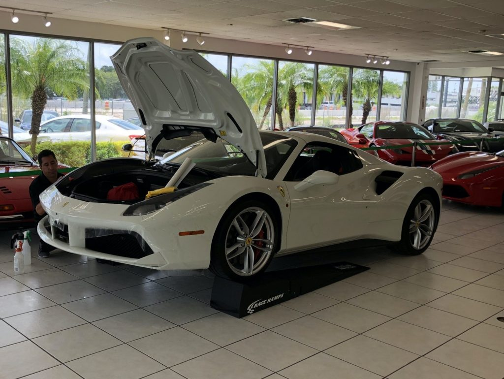 Paint Protection Film Orlando Ferrari 488