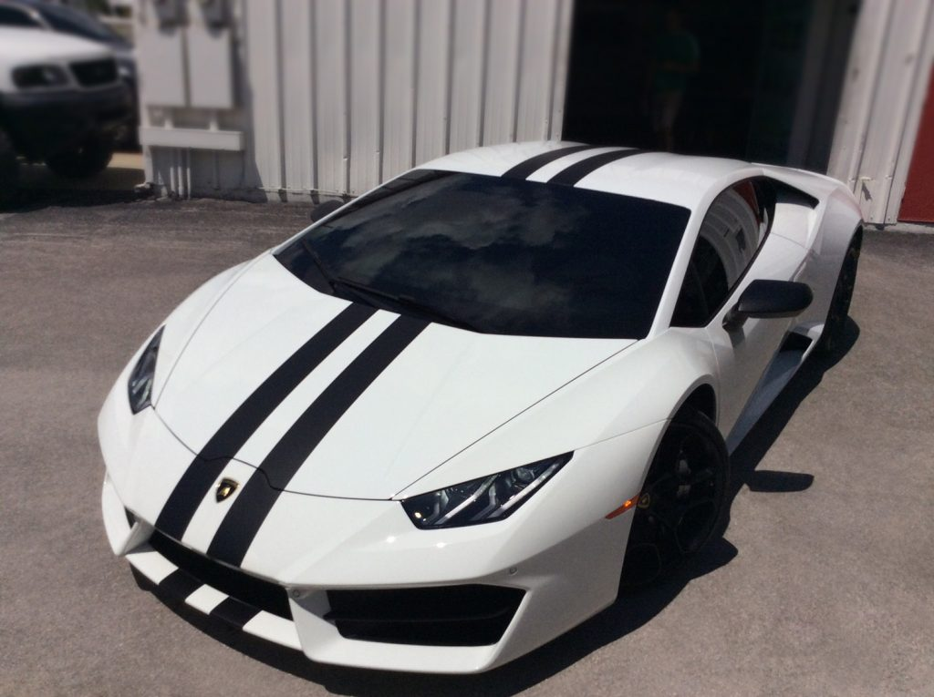 Lamborghini Huracan Window Tint in Orlando
