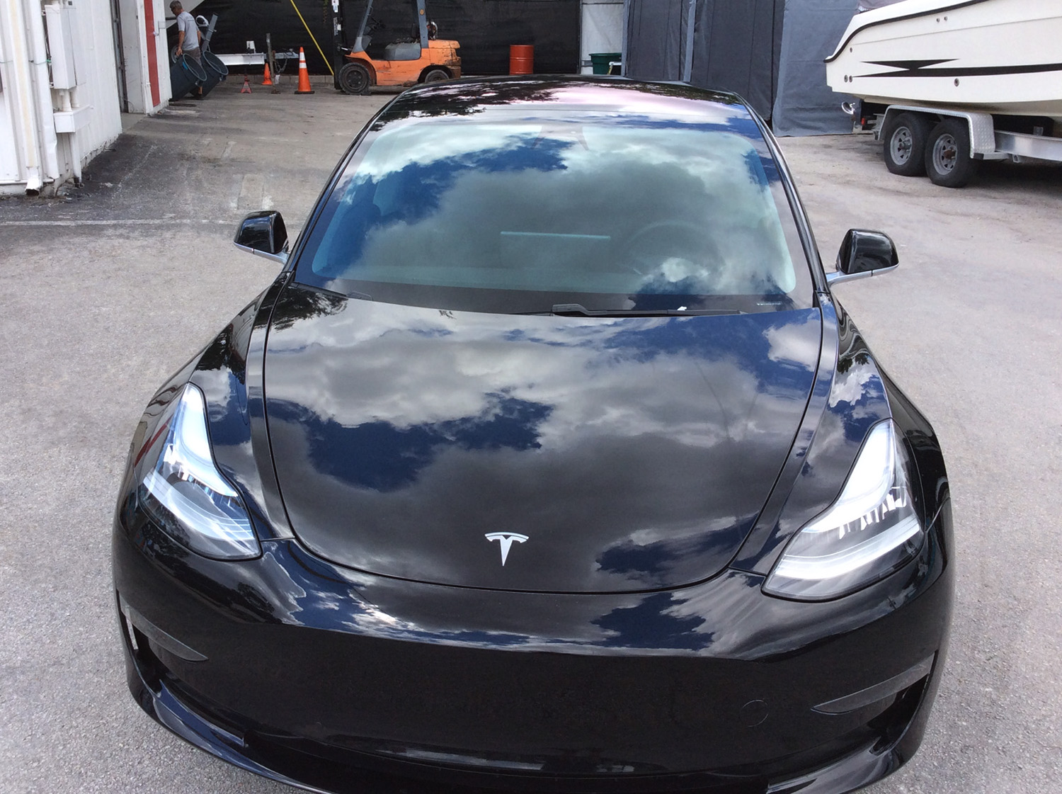 Model 3 Tinting with Formula One Stratos