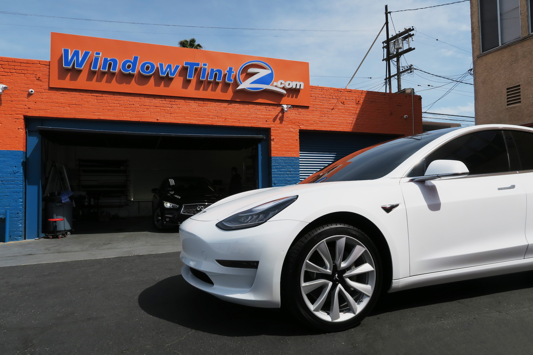 Stratos Tint Model 3 Tesla in Los Angeles