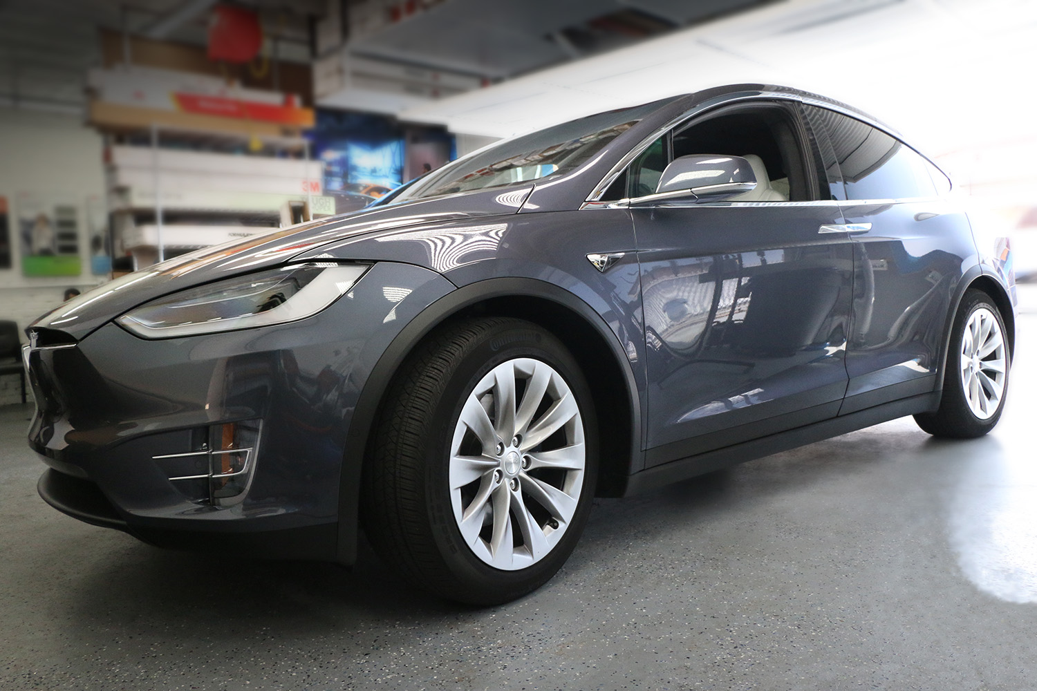 Tesla Model X Ceramic Window Tint Window Tint Z