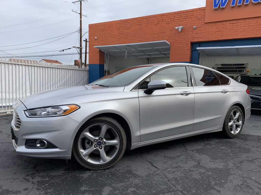 Ford Fusion Window Tint Los Angeles 001