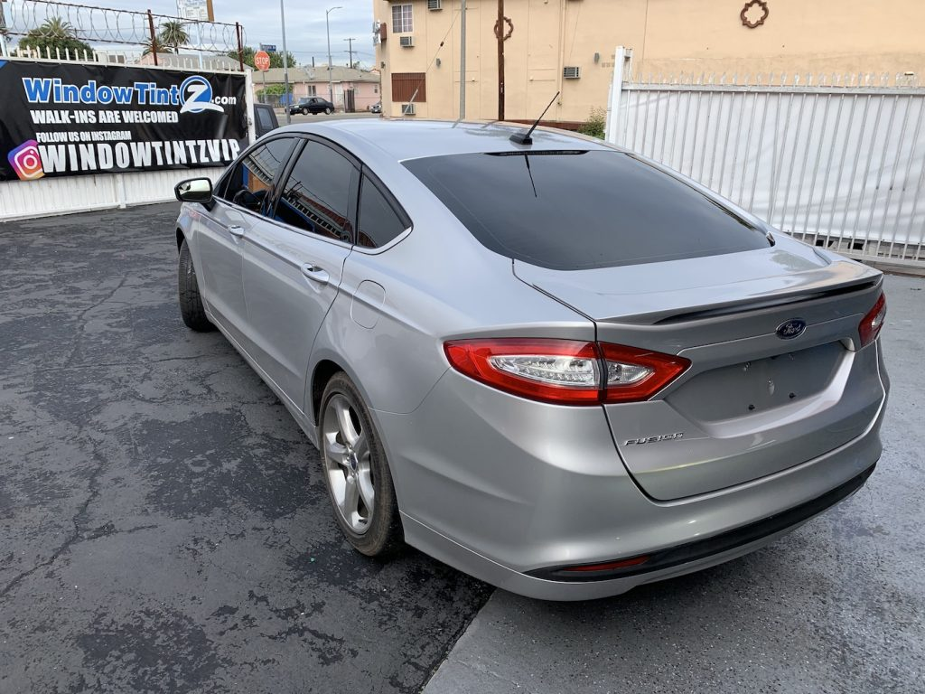 Ford Fusion Window Tint Los Angeles 002