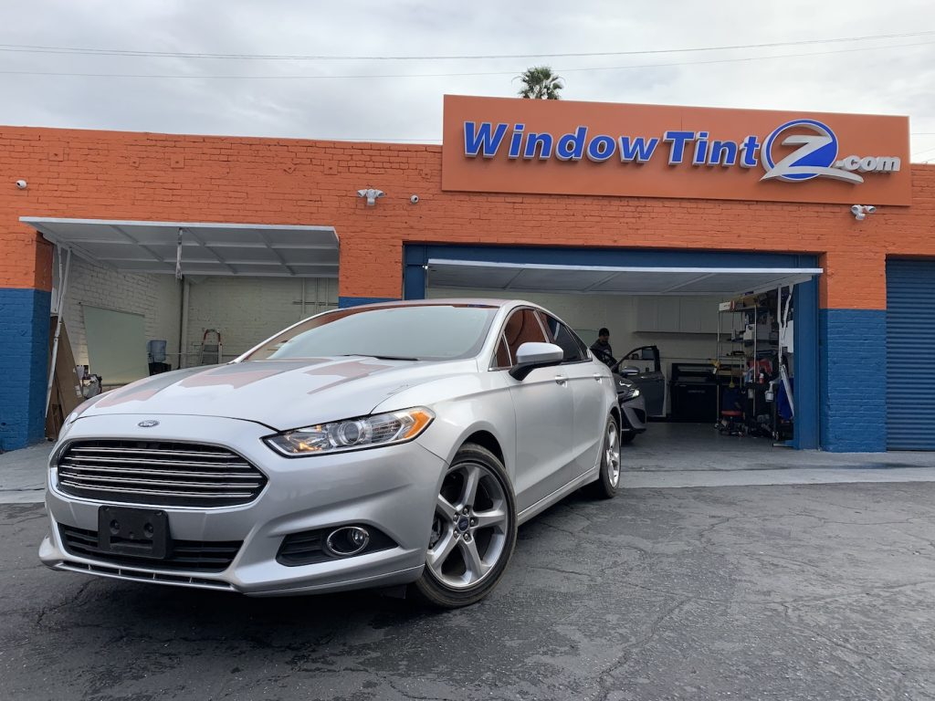 Ford Fusion Window Tint Los Angeles 003