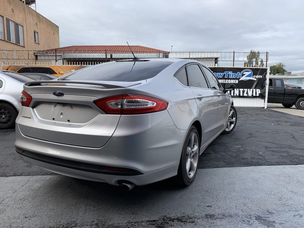 Ford Fusion Window Tint Los Angeles 004