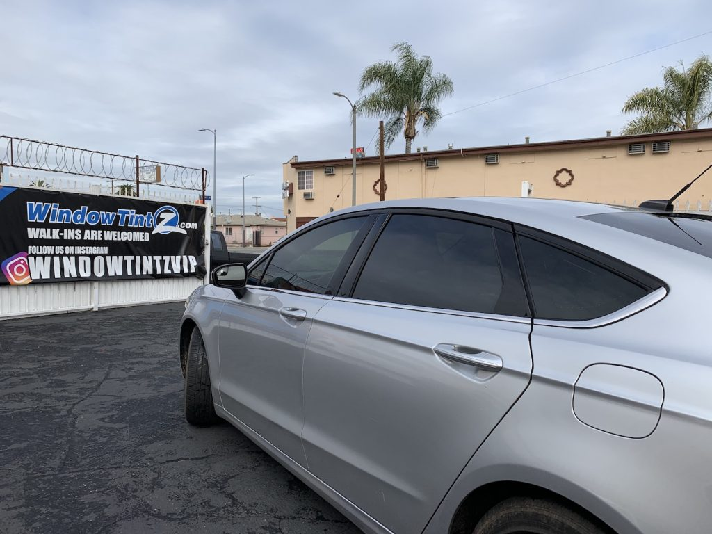 Ford Fusion Window Tint Los Angeles