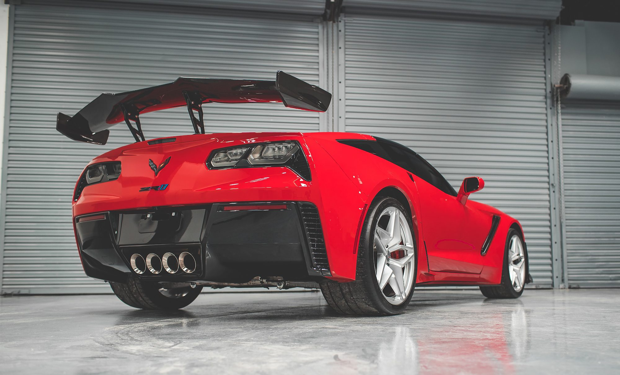 Red Window Tint >> 2019 Red Corvette ZR1 Ceramic Pro Paint Protection ...