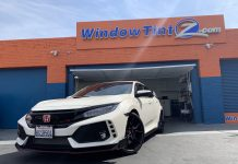 Formula One Pinnacle Window Tint - Honda Civic Type R Los Angeles