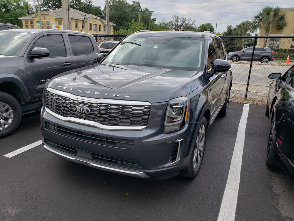 New Kia Telluride Window Tint Orlando 4 door