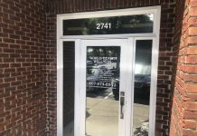 Commercial Door Window Tint Orlando