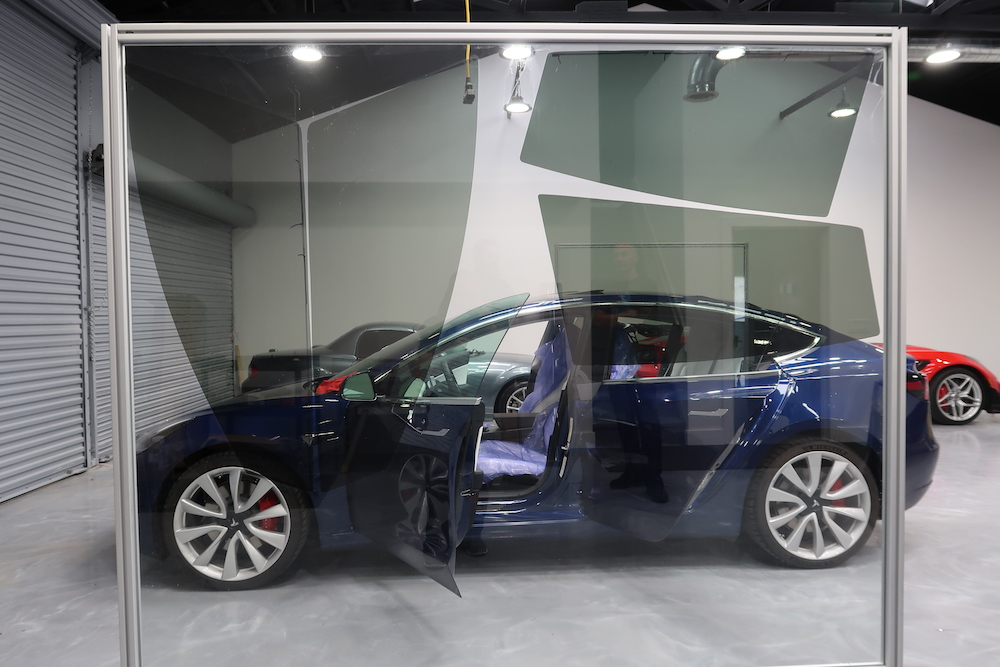 2018 Tesla Model 3 Dual Motor Window Tint Longwood FL