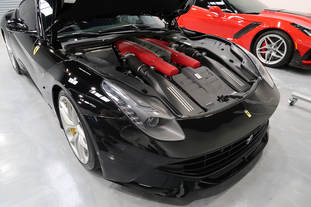 2016 Ferrari F12 Berlinetta – Longwood FL PPF Clear Bra Application